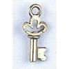 Pendant Small Key Antique Gold